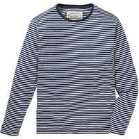 Jacamo L/S Stripe T-Shirt Reg