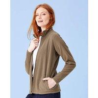 Zip Front Fleece Jacket