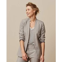 D-Ring Belted Tailored Jacket