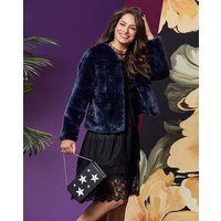 Short Faux Fur Coat at JD Williams Catalogue