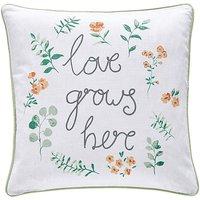 Love Grows Here Cushion