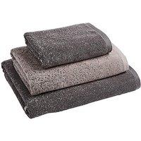 Kempton Ombre Towels Black & White