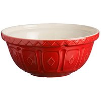 Colour Mix Mixing Bowl 29cm Red