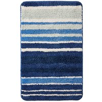 Oslo Stripes Bath Mat Blue