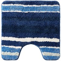 Oslo Stripes Pedestal Mat Blue