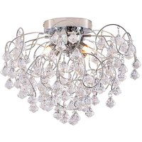 Celeste 4 Light Fitted Ceiling Light