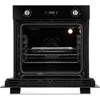 Hoover HOC3UB5858BI Black & Steel Oven.