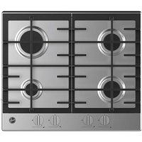 Hoover HMK6GRK3X Stainless Steel Gas Hob.