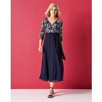 Nightingales Lace Bodice Dress