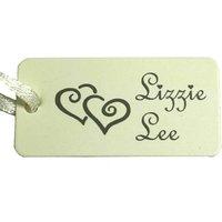 Lizzie Lee Double Heart Necklace