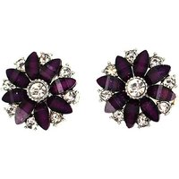 Lizzie Lee Flower Clip Earring
