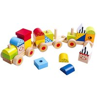 Tooky Toy Wooden Stacking Train.