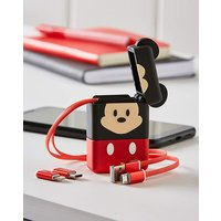 Mickey Mouse Flip Retractable Cable.