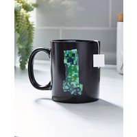Minecraft Creeper Heat Change Mug.