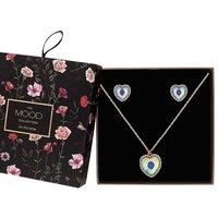 Mood Heart Halo Jewellery Set