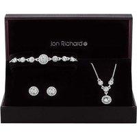 Jon Richard Halo Jewellery Set