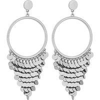 Lipsy Sequin Fringed Earrings