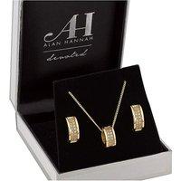 Alan Hannah Barrel Jewellery Set