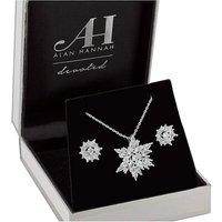 Alan Hannah Snowflake Jewellery Set at JD Williams Catalogue