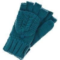 Accessorize Delicate Cable Capped Glove
