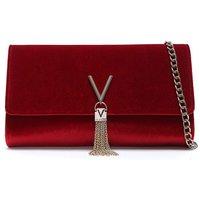 Mario Valentino Divina Velvet Clutch Bag