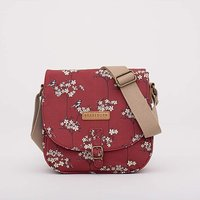 BLOSSOM SADDLE BAG RED ONE SIZE