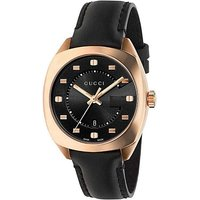 Gucci Black Rose Gold Ladies Watch