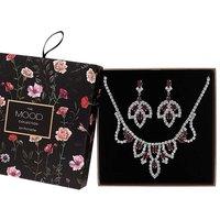 Mood Red Jewellery Set