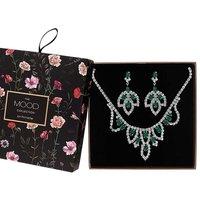 Mood Green Jewellery Set