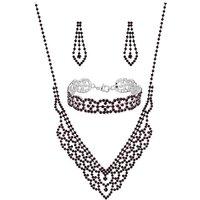 Mood Purple Jewellery set