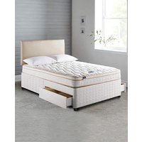 Silentnight Ella Cushion Divan 2 Drawer
