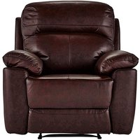 Roma Leather Recliner Chair