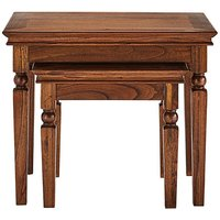 Colonial Nest of Two Tables
