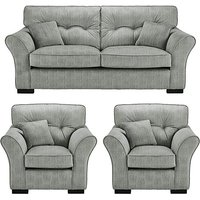 Louis 3 Seater plus 2 Chairs