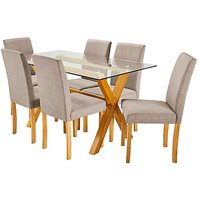 Albany Rectangular Table 6 Mia Chairs