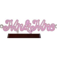 Light Up Mr and Mrs Message Board