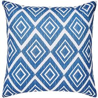 Ikat Diamond Outdoor Cushion
