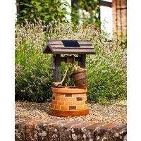 Wishing Well Solar Fountain