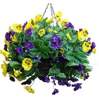 Artificial Plant Pansy Ball