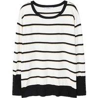 Violeta By Mango Stripe Sweater