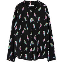 Violeta By Mango Bird Print Shirt