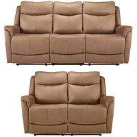 Nevada 3 plus 2 Seater Recliner Sofa