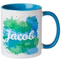 Personalised Colourful Splash Mug