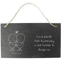 Chilli & Bubbles Personalised Hanging Si