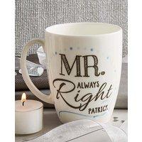 Personalised Mr Conical Mug
