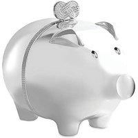 Vera Wang Baby Piggy Bank Silver