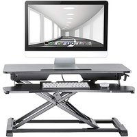 Proper Sit-Stand Two Tier Workstation
