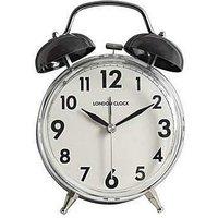 London Clock Twin Bell Alarm Clock