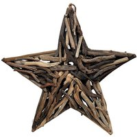 Natural Driftwood Star
