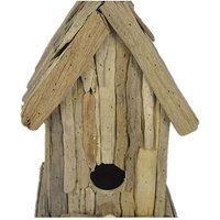 Natural Driftwood Birdhouse